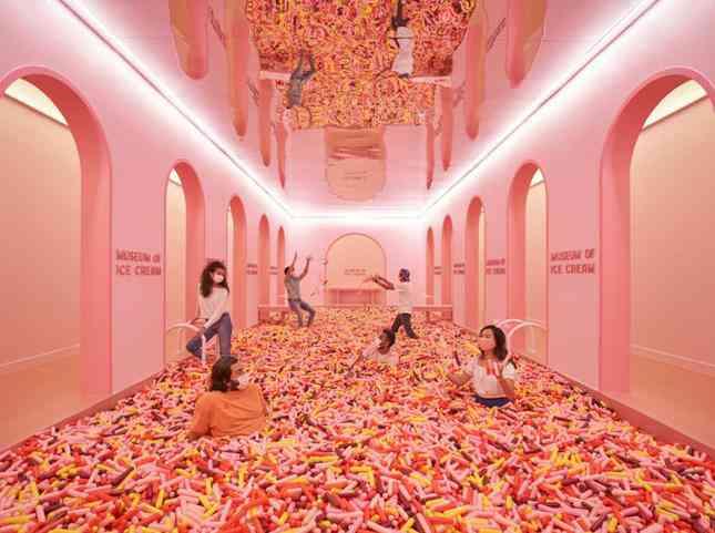 """Bảo tàng kem ở Singapore: Ở đây có bán kem sư tử và những món ăn """"ngọt hơn crush của bạn"""""""