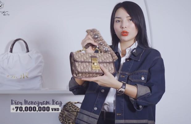 """""""Lóa mắt"""" tủ đồ Dior nửa tỷ của Hoa hậu Kỳ Duyên"""