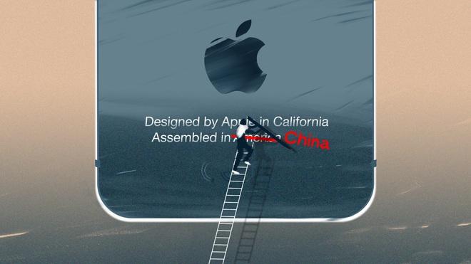 """iPhone và """"giấc mơ Mỹ"""""""