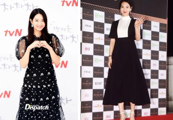 Tin đồn mang thai là sai nhưng Shin Min Ah luôn chọn đồ dìm dáng là thật!