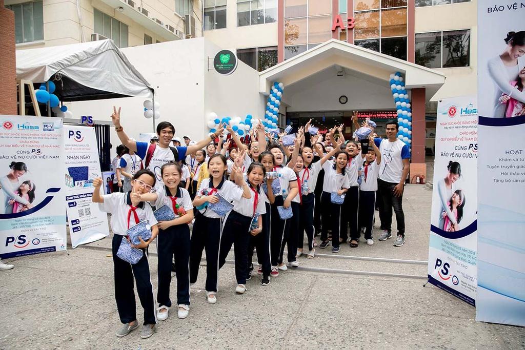 Sứ mệnh bảo vệ nụ cười Việt Nam – sứ mệnh của P/S