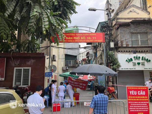 Hà Nội: Cách ly 7 ngày khu vực có 2.000 dân ở quận Thanh Xuân sau khi ghi nhận 19 F0
