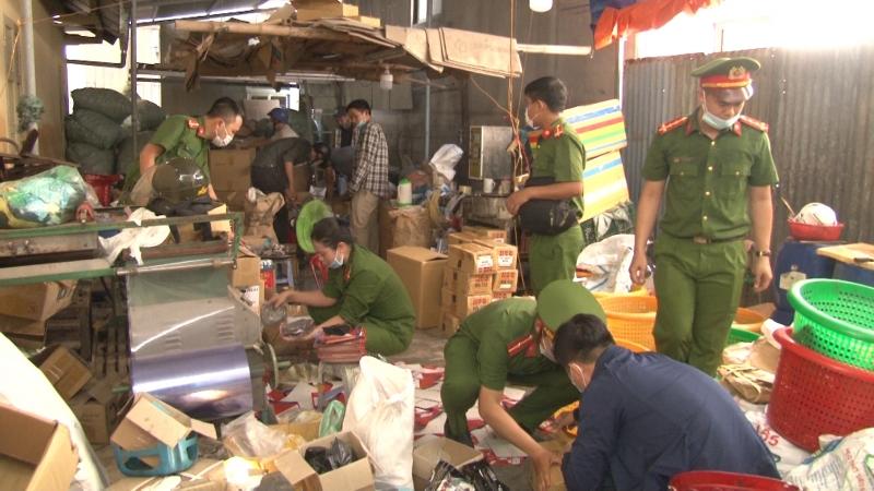 Thừa Thiên Huế: Triệt phá đường dây làm giả hơn 30.000 phụ tùng xe máy