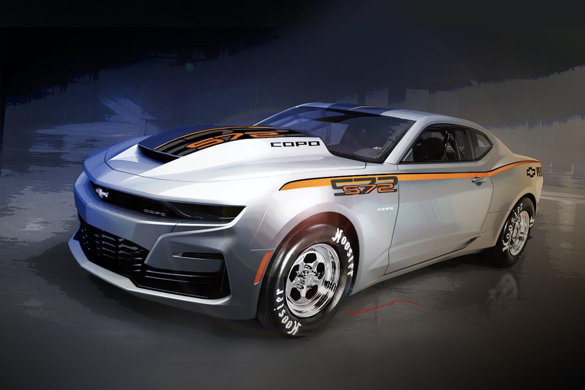 Chiếc Chevrolet Camaro cực mạnh với động cơ 9.4L