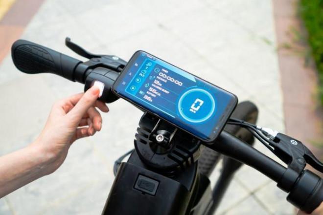 Ra mắt xe đạp điện có bánh xe không nan hoa