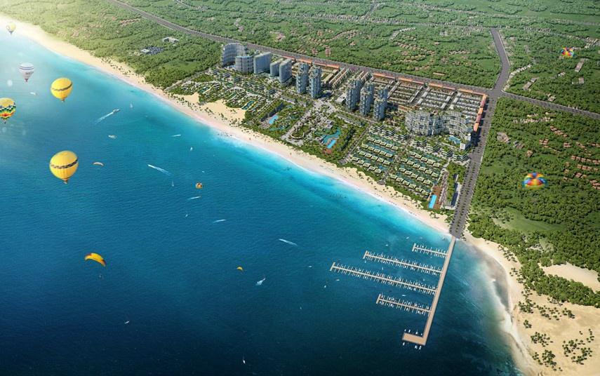 Lợi thế nghỉ dưỡng và đầu tư tại đô thị biển Thanh Long Bay