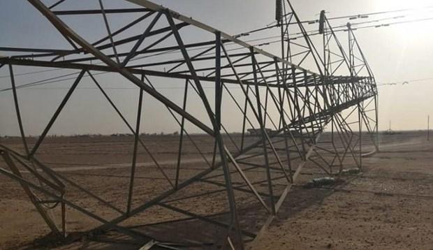 Các tay súng phá hoại tháp truyền tải điện ở miền Bắc Iraq