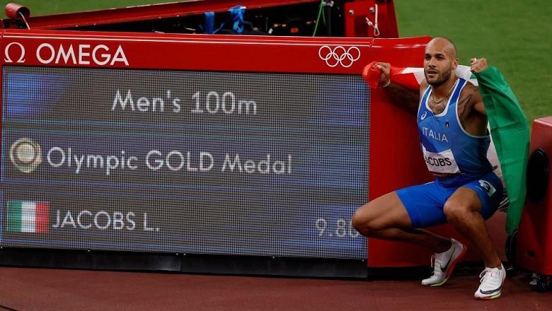 Marcell Jacobs, nhà vô địch nội dung chạy 100m nam tại Olympic Tokyo 2020 là ai?