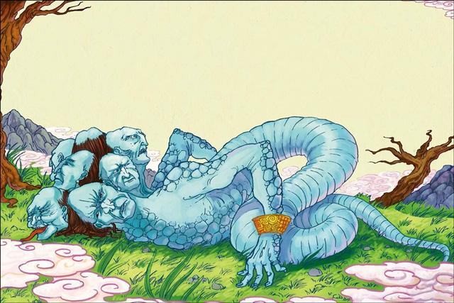Những xà thần nổi tiếng trong thần thoại: Hydra còn xếp sau Tương Liễu Thị của Trung Hoa