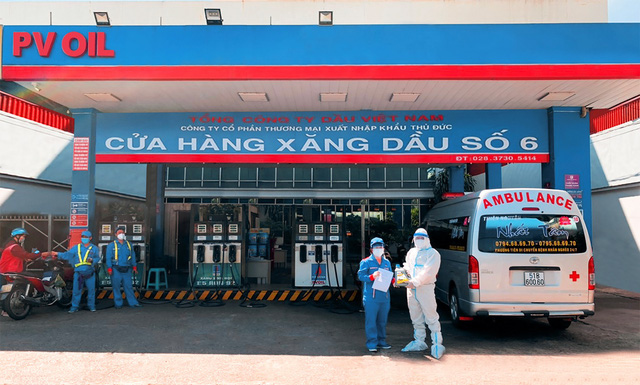 PVOIL tài trợ xăng dầu cho các nhóm thiện nguyện