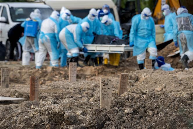 Đến sáng 17/8, thế giới ghi nhận hơn 208,5 triệu người nhiễm COVID-19