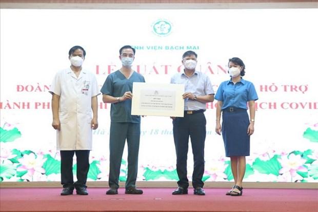 CNVC lao động luôn biết ơn các y, bác sỹ đang ngày đêm chống dịch