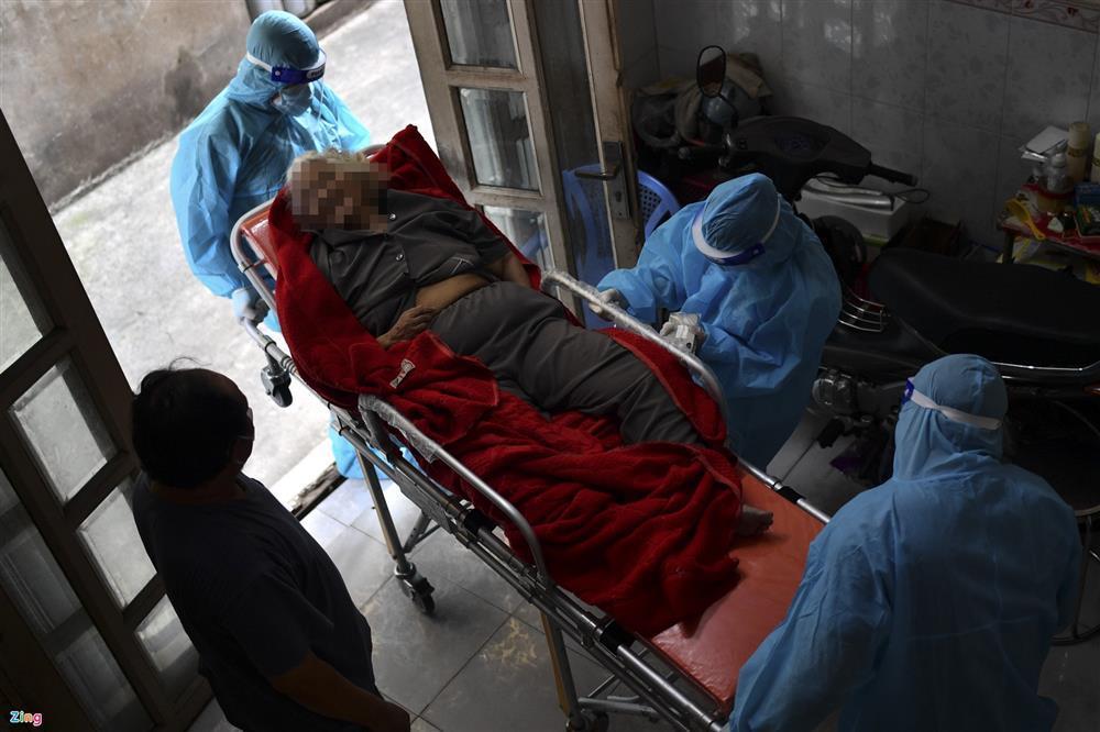 Hành trình hơn 5 giờ đi tìm bệnh viện cho F0 nguy kịch