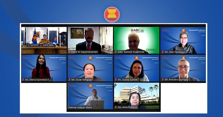 ASEAN khởi động chuỗi hội thảo chuyên đề trực tuyến về RCEP