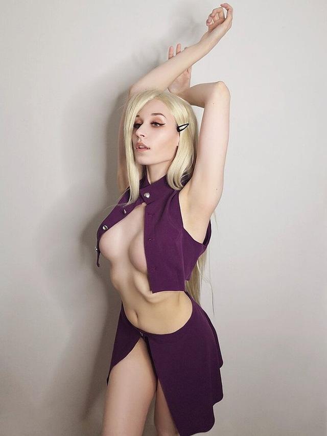 """Nàng nhẫn giả xinh đẹp trong Naruto lại khiến fan """"cảm nắng"""" vì body quá hoàn hảo"""