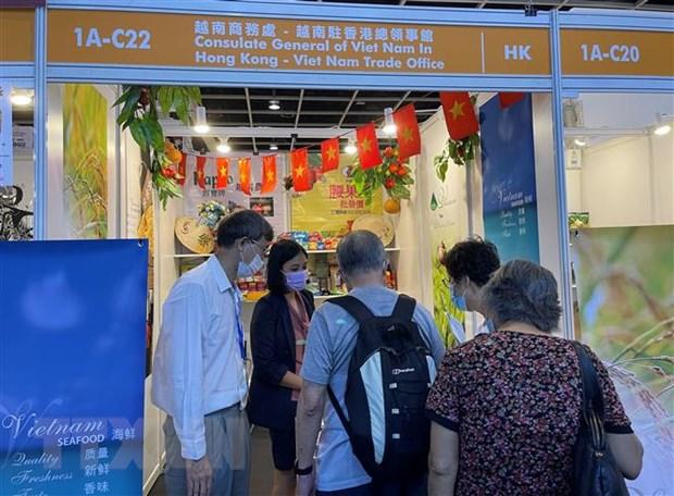 Việt Nam tham dự Hội chợ Thực phẩm Hong Kong năm 2021