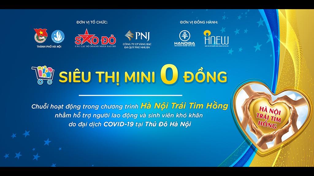 """Từ 1.8, Hà Nội mở 'siêu thị mini 0 đồng"""" hỗ trợ những người khó khăn"""