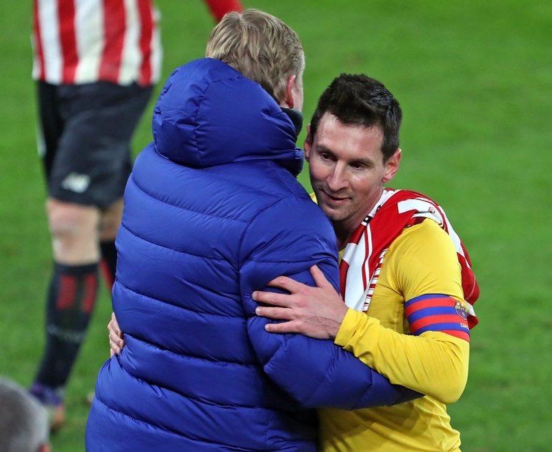 Koeman vẫn không thể tin Messi đã rời Barca