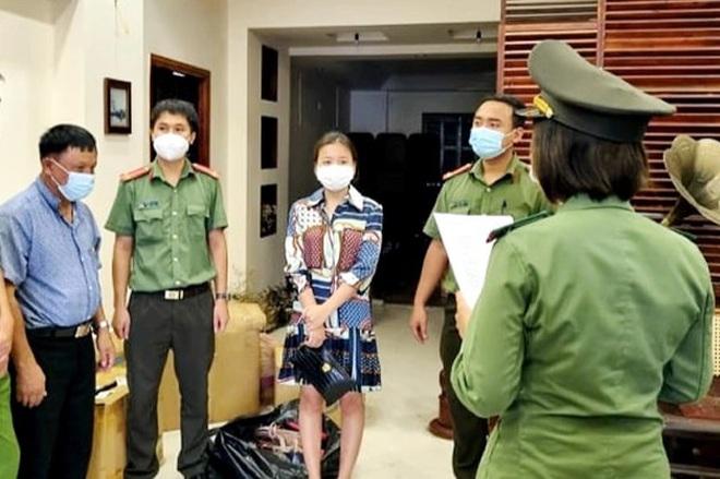 Bắt giam nữ giám đốc tổ chức cho người nước ngoài nhập cảnh trái phép - ảnh 1