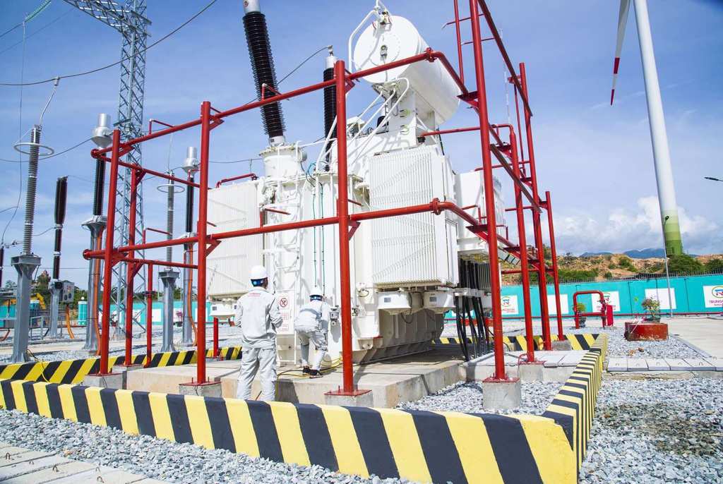 Ninh Thuận đưa vào vận hành nhà máy điện gió công suất 46,2 MW