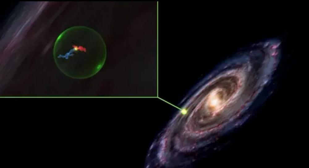 Thiên hà chứa Trái Đất bị thủng lỗ lớn