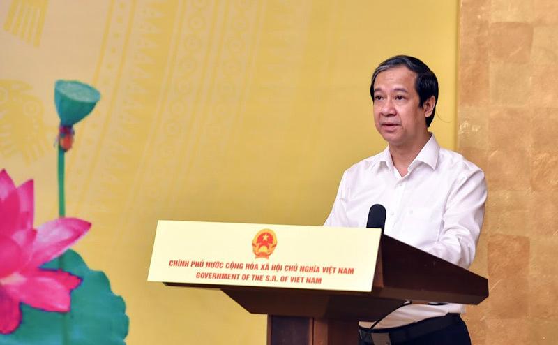 """Phát biểu của Bộ trưởng Nguyễn Kim Sơn tại lễ phát động Chương trình """"Sóng và máy tính cho em"""""""