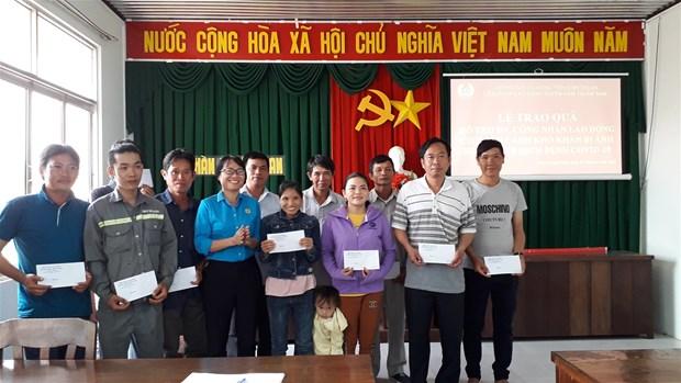 Bình Thuận: Hỗ trợ đoàn viên, người lao động bị ảnh hưởng COVID-19
