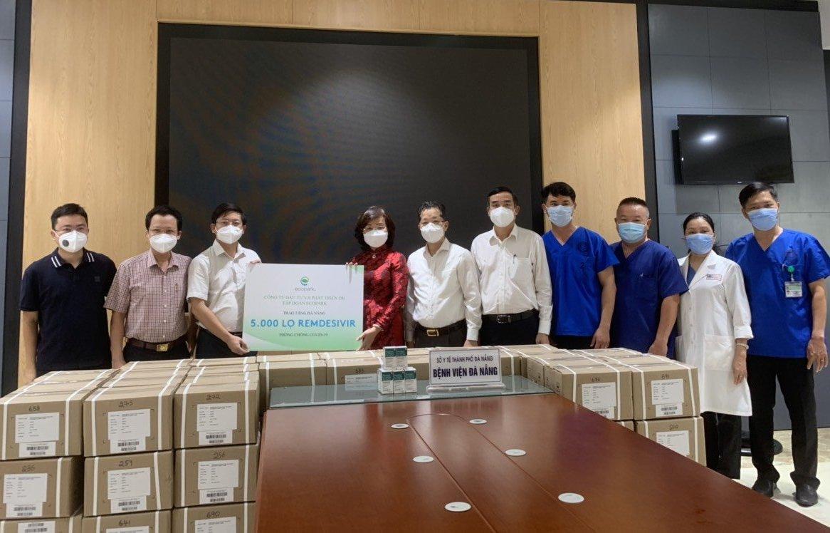 Đà Nẵng: Tiếp nhận 5.000 lọ thuốc Remdesivir điều trị COVID-19
