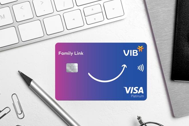 Lần đầu tiên, VIB hợp tác Visa ra mắt dòng thẻ tín dụng đồng hành cùng con