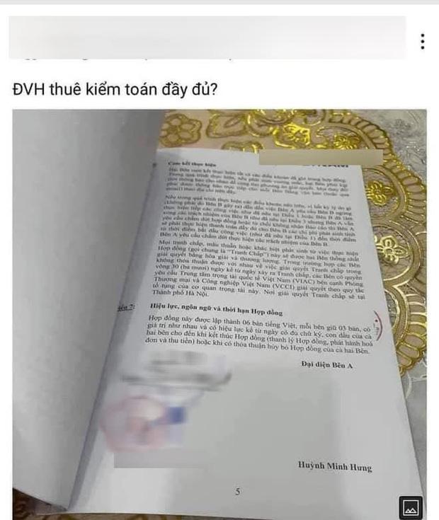 Lộ hợp đồng của Đàm Vĩnh Hưng và một công ty kiểm toán? - ảnh 1