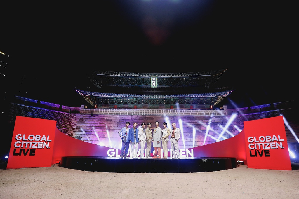 Nhóm BTS, vợ chồng Hoàng tử Harry tham gia sự kiện hòa nhạc trực tuyến toàn cầu - ảnh 1