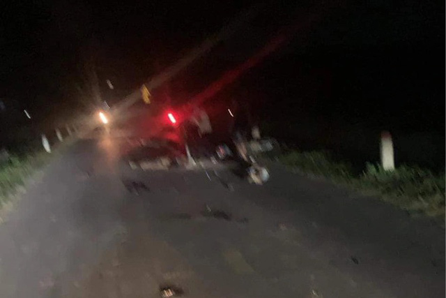 Tai nạn giao thông kinh hoàng, 5 người tử vong đêm Trung thu - ảnh 1
