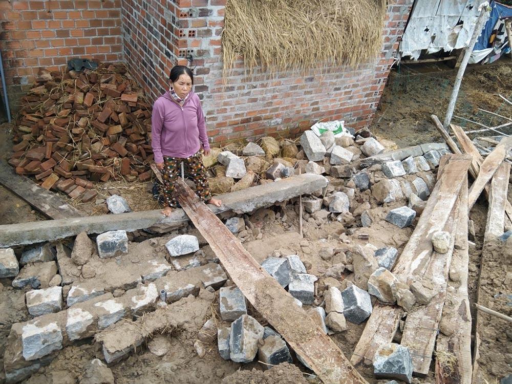 Hợp tác xã sập tường mới xây, 1 người tử vong thương tâm