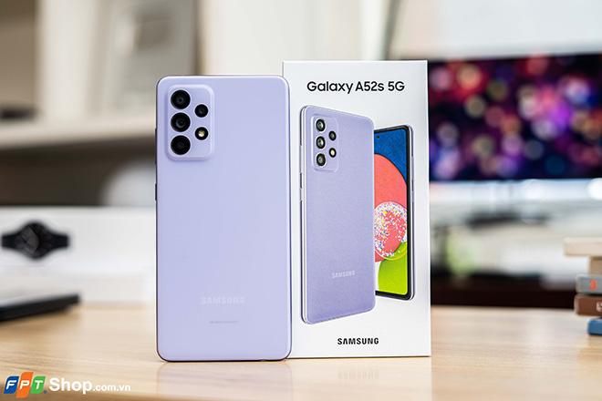 FPT Shop giảm 1 triệu cho khách đặt trước Galaxy A52s 5G - ảnh 1