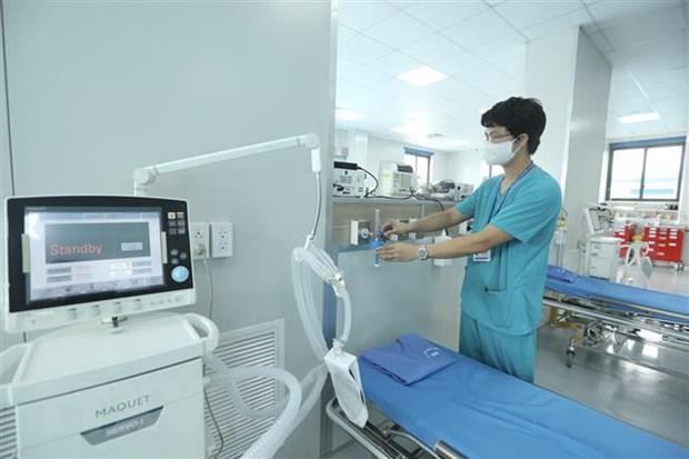 Khánh thành Bệnh viện điều trị người bệnh COVID-19 tại Hà Nội