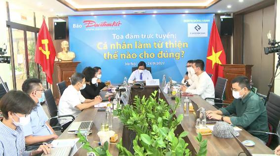 """MC Phan Anh, Thái Thùy Linh chia sẻ """"Cá nhân làm từ thiện thế nào cho đúng?"""""""