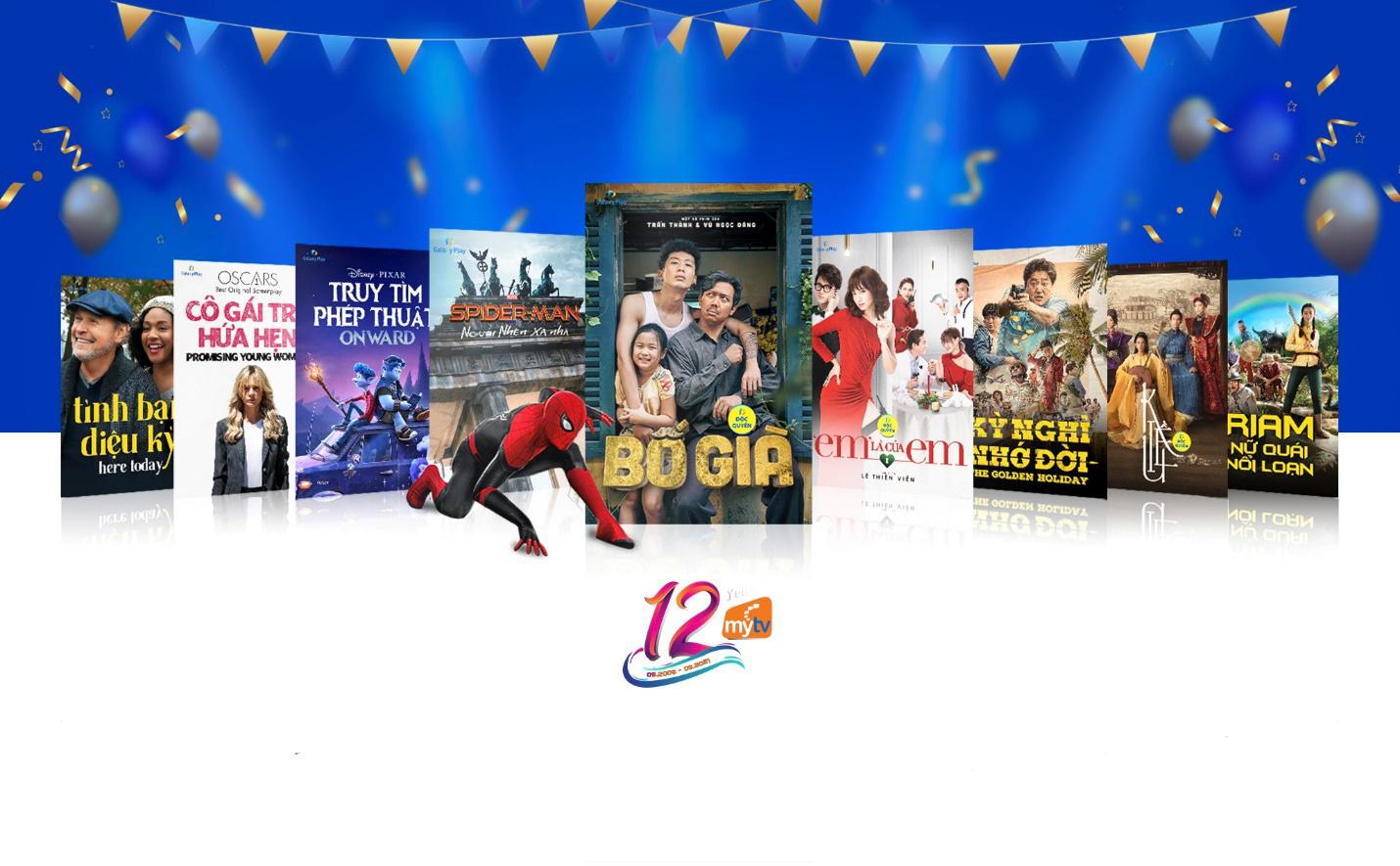 Truyền hình MyTV gửi tặng những phần quà tinh thần tri ân khách hàng nhân kỷ niệm sinh nhật 12 năm