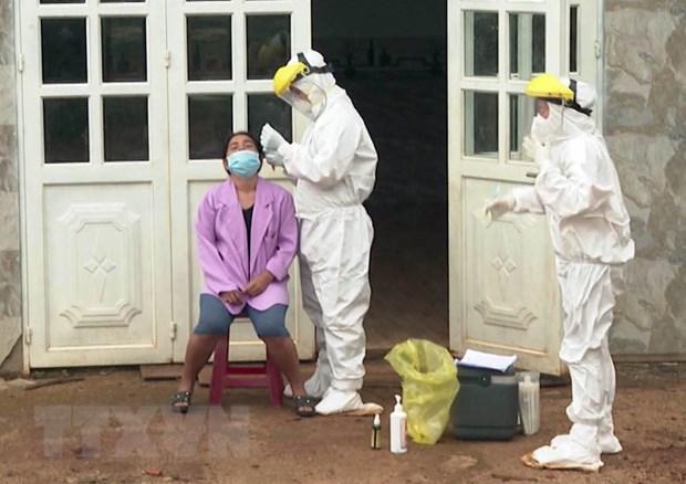 Ổ dịch COVID-19 lớn nhất tỉnh Đắk Nông cơ bản được khống chế