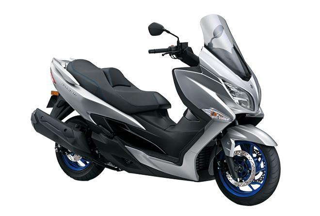 Suzuki trình làng xe ga mới thách thức Honda SH350i