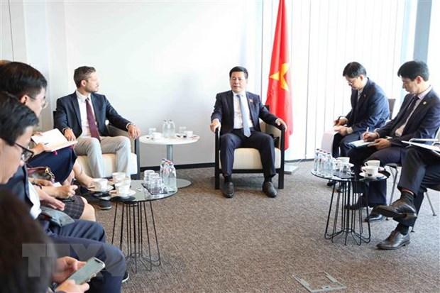 Doanh nghiệp Bỉ sẵn sàng hỗ trợ công tác phòng dịch tại Việt Nam