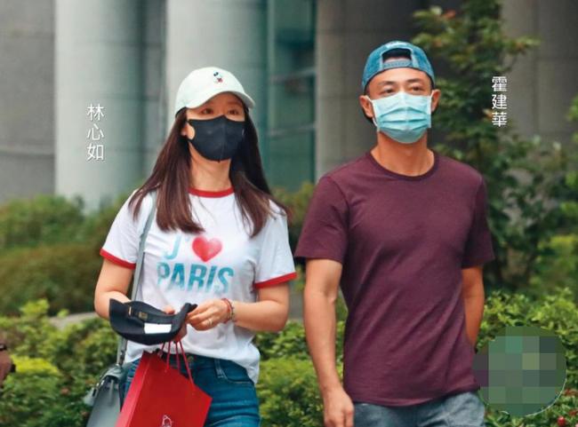 Vợ chồng Lâm Tâm Như – Hoắc Kiến Hoa lần đầu xuất hiện sau vụ bê bối của Triệu Vy