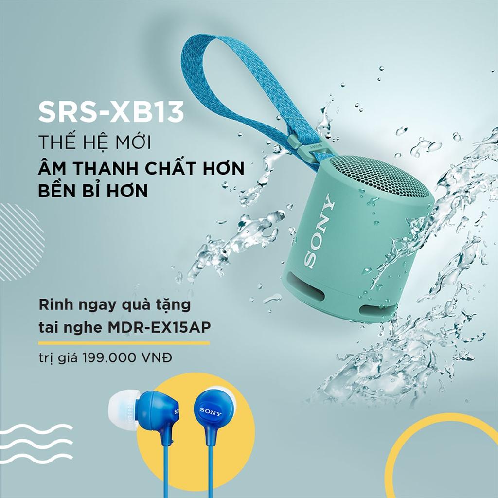 Sony ra mắt SRS-XB13 thế hệ mới – Loa không dây di động nhỏ gọn