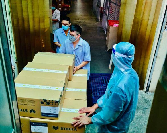 16.000 liều thuốc kháng virus Molnupiravir đã chuyển xuống các quận huyện điều trị F0