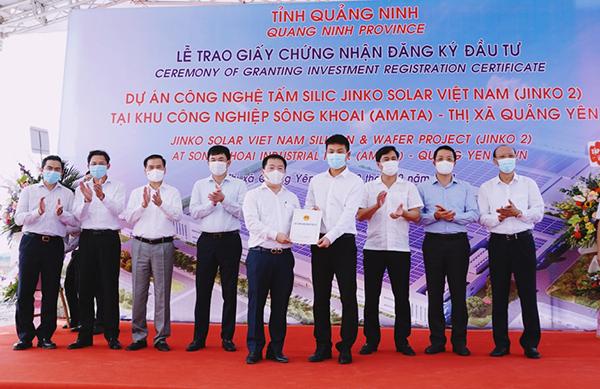 Jinko Solar đầu tư tiếp dự án thứ 2 hơn 365 triệu USD vào Quảng Ninh - ảnh 1
