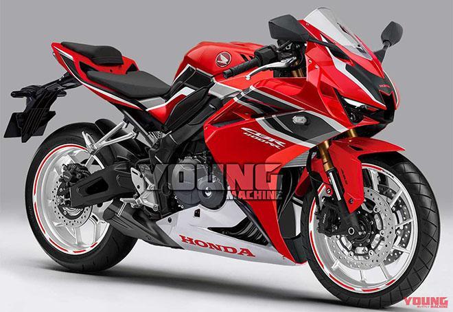 Mãn nhãn với thiết kế ấn tượng của Honda CBR400RR