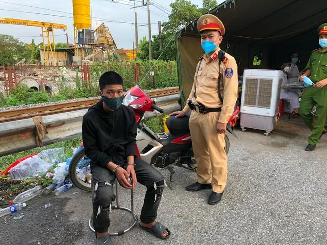 Đi xe máy trộm cắp ở Thanh Hóa ra Hà Nội thì bị bắt