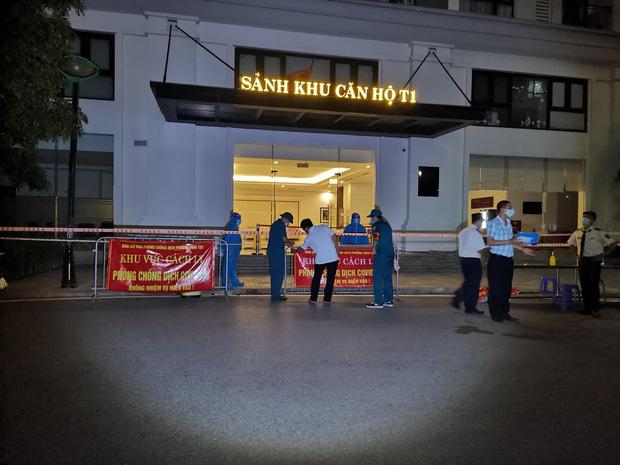 Hà Nội phong toả tạm thời toà T1, Khu đô thị Times City sau khi 4 người trong gia đình dương tính SARS-CoV-2