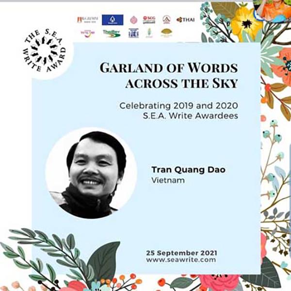Hai tác giả Việt Nam đoạt Giải thưởng Văn học ASEAN - ảnh 1