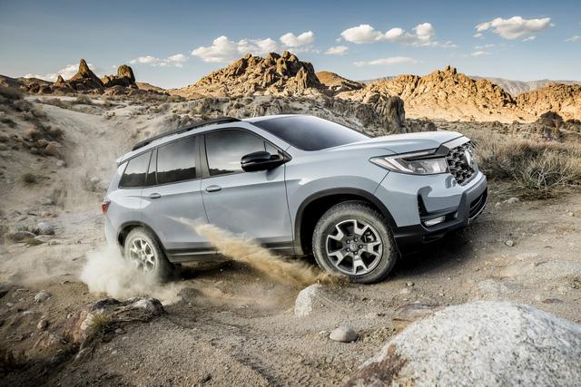 Ra mắt Honda Passport 2022 – SUV cỡ trung cạnh tranh Hyundai Santa Fe và Kia Sorento