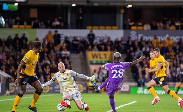 Luân lưu cân não, Tottenham thắng kịch tính Wolves - ảnh 1